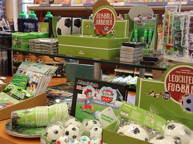 Geschenke für Kinder - für Fussballfans
