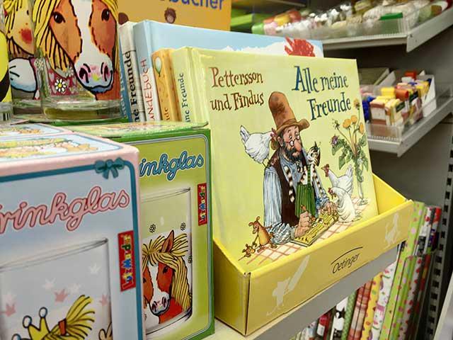 Geschenke für Kinder - Freundebücher