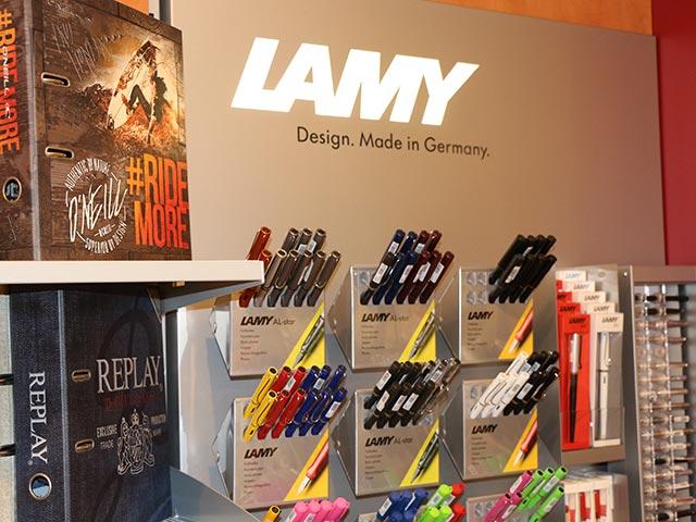 Grosse Auswahl an Schreibgeräten - Schreibgeräte von Lamy