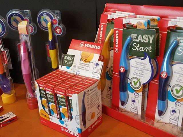 Grosse Auswahl an Schreibgeräten - Schreiblernstifte