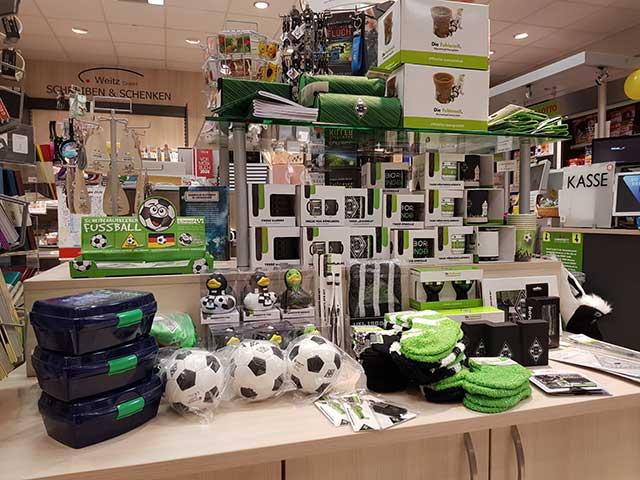 Weitz & Franken - Sortiment in Kleinenbroich - Borussia-Fanartikel
