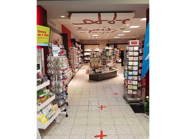 Weitz & Franken in Kleinenbroich - Blick ins Geschäft